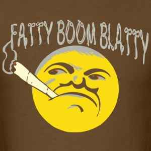 fatty boom blatty T-Shirts - Men's T-Shirt