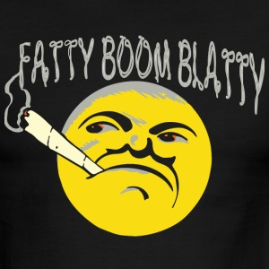 fatty boom blatty T-Shirts - Men's Ringer T-Shirt