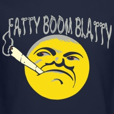 fatty boom blatty Long Sleeve Shirts