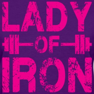 Lady of Iron Women's T-Shirts - Women's T-Shirt