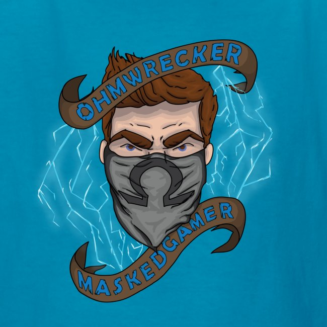 Official Masked Gamer Kid's Tee