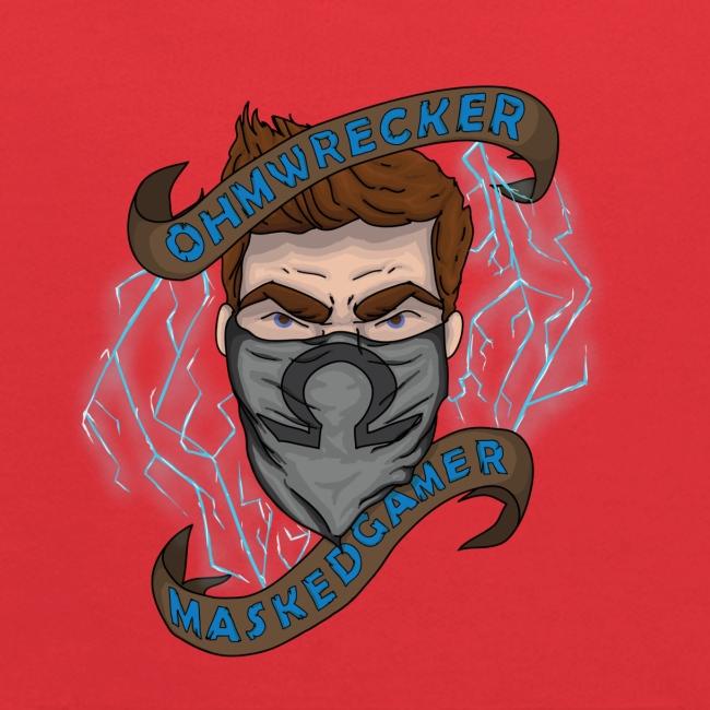 Official Masked Gamer Kid's Hoodie