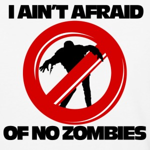 I aint afraid of no zombies - Baseball T-Shirt
