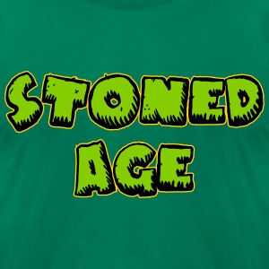 STONED AGE - Men's T-Shirt by American Apparel
