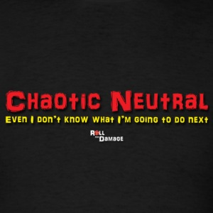 Chaotic Neutral Alignment T-Shirts - Men's T-Shirt