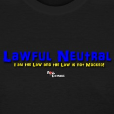 Lawful Neutral Alignment Women's T-Shirts