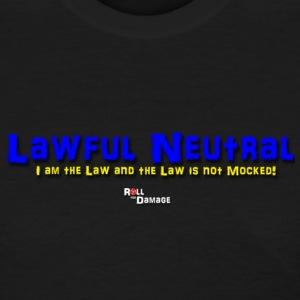 Lawful Neutral Alignment Women's T-Shirts - Women's T-Shirt