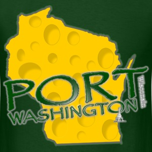 Port Washington Wisconsin Pride - Men's T-Shirt