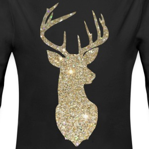 Golden Deer Head Baby & Toddler Shirts - Baby Long Sleeve One Piece