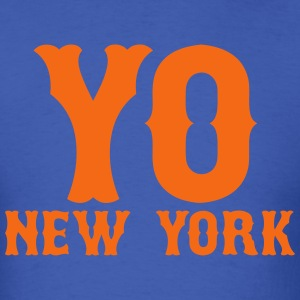YO New York T-Shirts - Men's T-Shirt