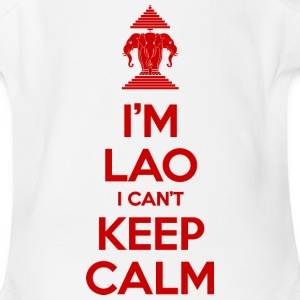 I'm Lao I Can't Keep Calm Baby & Toddler Shirts - Baby Short Sleeve One Piece