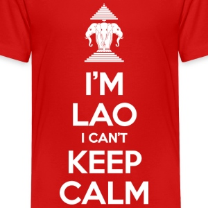 I'm Lao I Can't Keep Calm Kids' Shirts - Kids' Premium T-Shirt
