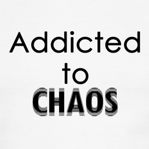 Addicted to Chaos - Men's Ringer T-Shirt