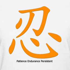 Patience_Gold_Women - Women's T-Shirt