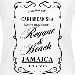 Jamaica - Reggae & Beach Long Sleeve Shirts - Women's Long Sleeve Jersey T-Shirt