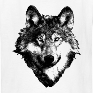Wolf Art Design Kids' Shirts - Kids' T-Shirt