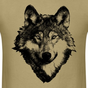 Wolf Art Design T-Shirts - Men's T-Shirt