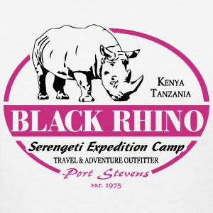Black Rhino - Serengeti Safari Women's T-Shirts - Women's T-Shirt