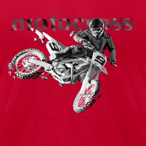 motocross T-Shirts - Men's T-Shirt by American Apparel