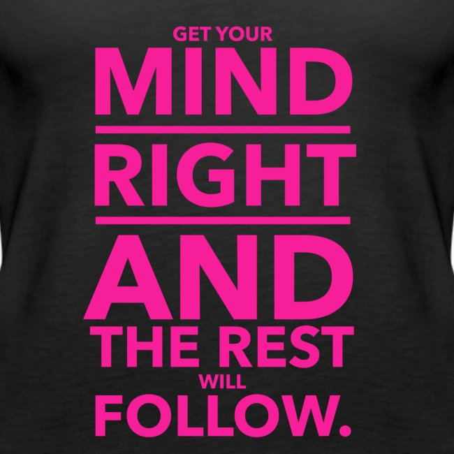 Get Your Mind Right Logo Tank