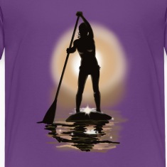 paddle boarding Baby & Toddler Shirts