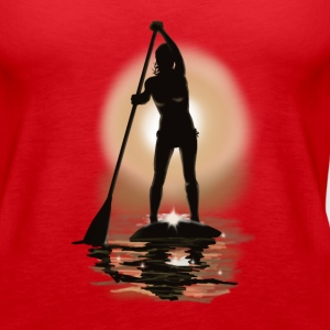 paddle boarding Tanks - Women's Premium Tank Top