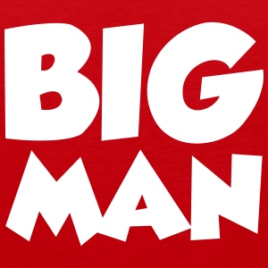 Big Man Tank Tops - Men's Premium Tank