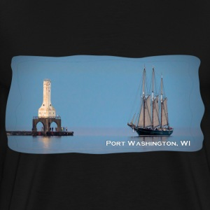 Denis Sullivan in Port Washington WI Mens T Shirt - Men's Premium T-Shirt