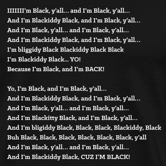 and im black yall