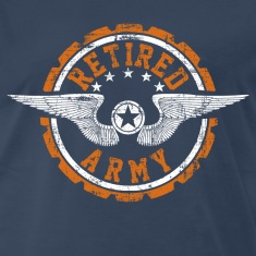Retired Army T-Shirts