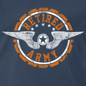 Retired Army T-Shirts - Men's Premium T-Shirt