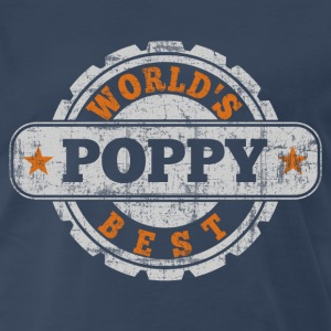 World's Best Poppy T-Shirts - Men's Premium T-Shirt
