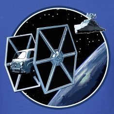 600 multipla TIE fighter 2 peoardu idea T-shirts