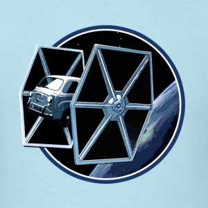 600 multipla TIE fighter peoardu idea T-shirts - T-shirt pour hommes