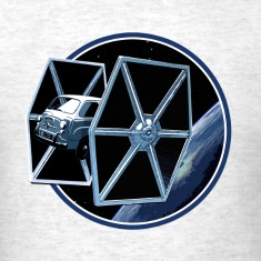 600 multipla TIE fighter peoardu idea T-shirts