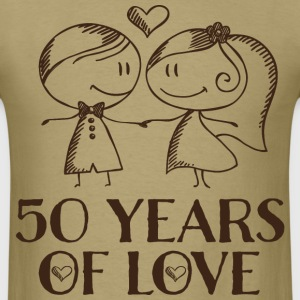 50th Anniversary Married Couples T-Shirts - Men's T-Shirt