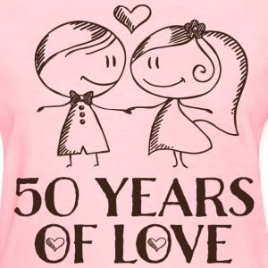 50th Anniversary Married Couples Women's T-Shirts - Women's T-Shirt