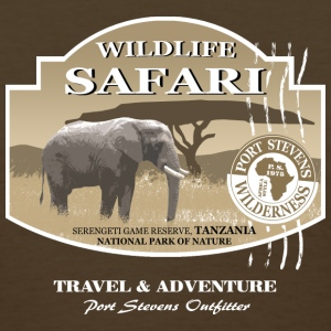 Elephant Safari Wildlife Women's T-Shirts - Women's T-Shirt