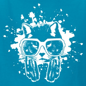 Hip Hop Cool Cat Kids' Shirts - Kids' T-Shirt