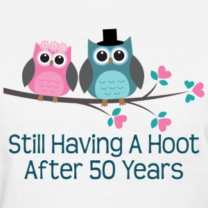 50th Wedding Anniversary owls Women's T-Shirts - Women's T-Shirt