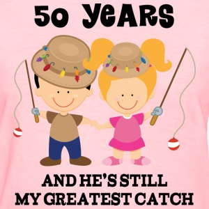 50th Anniversary Fishing Couple Women's T-Shirts - Women's T-Shirt