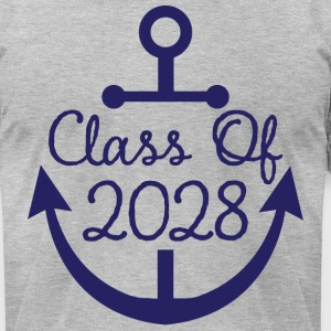 Class Of 2028 School anchor T-Shirts - Men's T-Shirt by American Apparel
