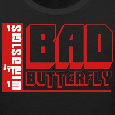 BAD BUTTERFLY Tank Tops