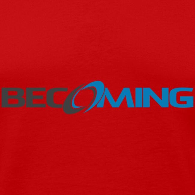 Becoming Mens Logo Tank Premium