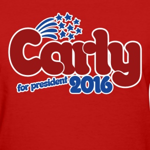 Carly Fiorina 2016 - Women's T-Shirt
