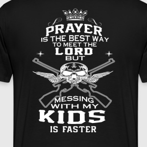 Mess With My Kids! - Men's Premium T-Shirt