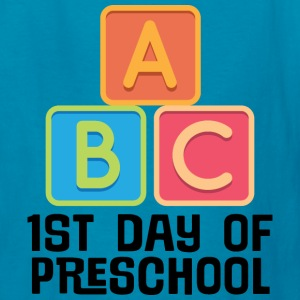 1st Day Of Preschool Kids' Shirts - Kids' T-Shirt