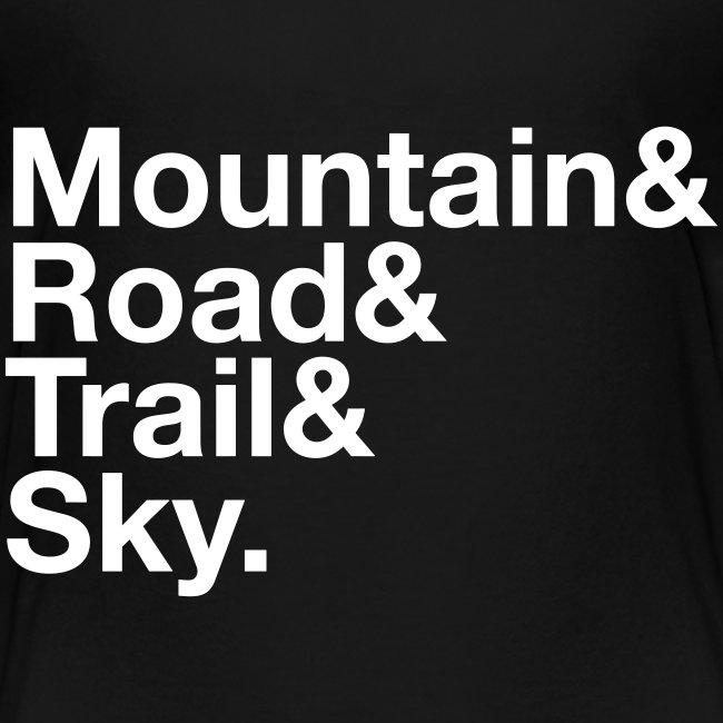 "Toddler MTGE ""Where We Run"" T-shirt"