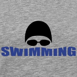 swimming T-Shirts - Men's Premium T-Shirt