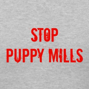 Stop Puppy Mills - Women's V-Neck T-Shirt